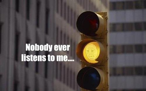 Poor Yellow Light…
