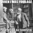 We Used Altavista