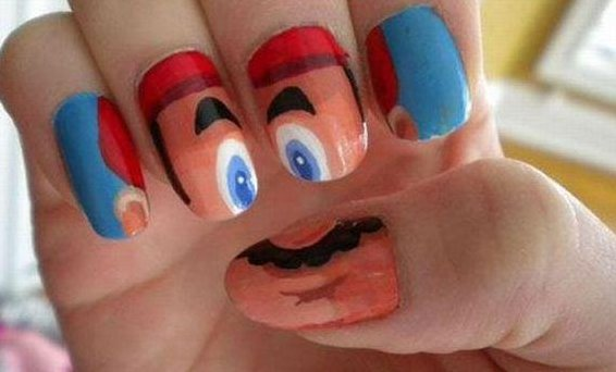 Awesome Painted Nails