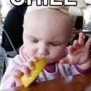 Baby With Lemon