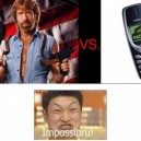 Chuck Norris vs. Nokia 3310