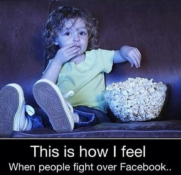 Fight Over Facebook