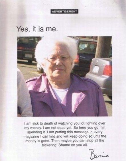 Grandma Win!