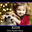 Kids, Make Puppies Happy