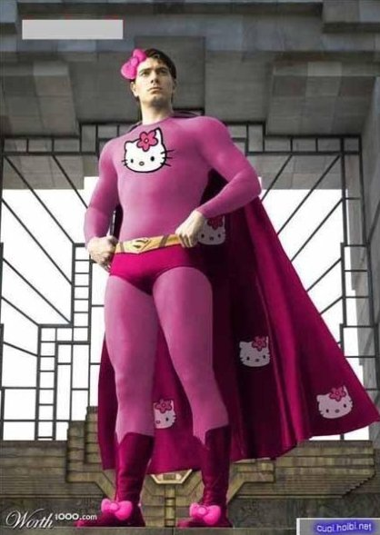 Hello Kitty Man