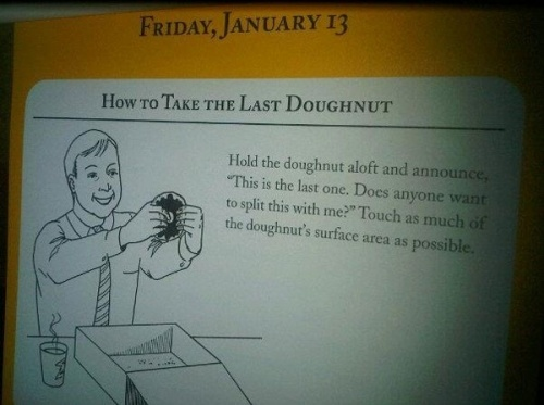 How To Take The Last Doghnut