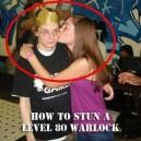 How To Stun a Level 80 Warlock
