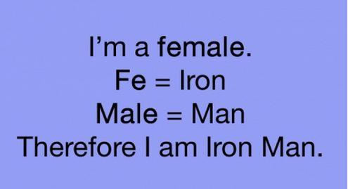 I'm a Female…