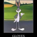 Cartoons and Gloves