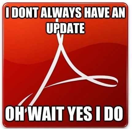 Annoying Adobe Reader