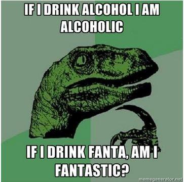 Philosoraptor – Alcohol and Fanta