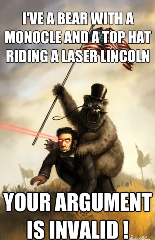 Laser Lincoln!
