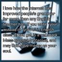 Internet Has Improved People's Grammar