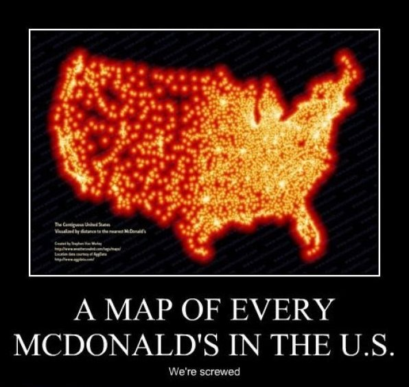 Every McDonald's in The U.S.