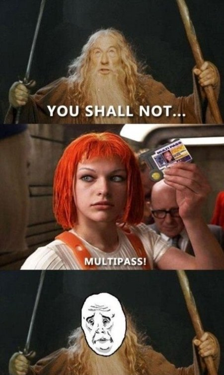 Got Multipass!