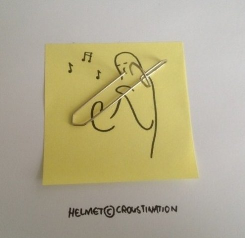 Trombone Paperclip