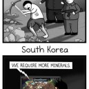 North vs. South Korea