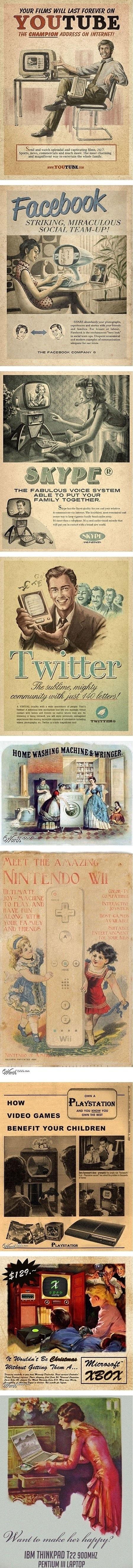 Old School Advertisements