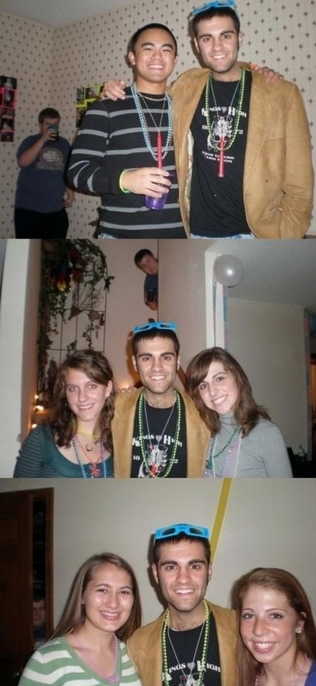 Forever Alone Photobomber