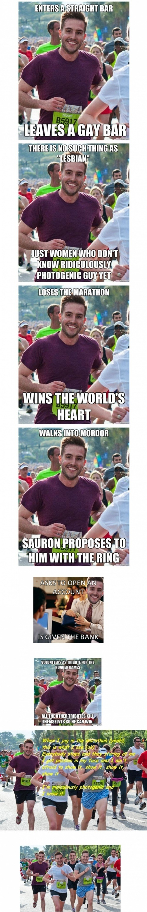 Ridiculously Photogenic Guy is Photogenic