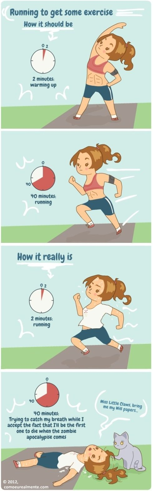 Running, How It Should Be