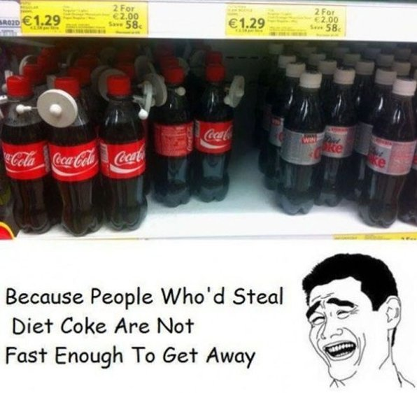 Steal Diet Coke
