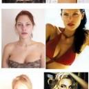 Super Models Without Makeup