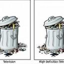 TV vs. HDTV