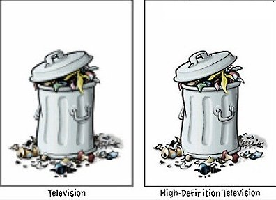 TV vs. HDTV