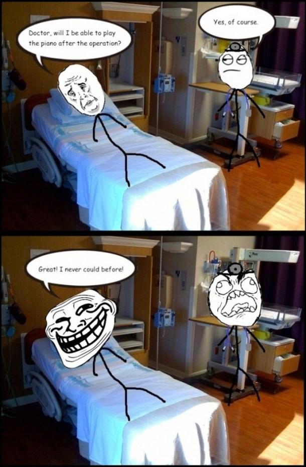 Trolling Patient