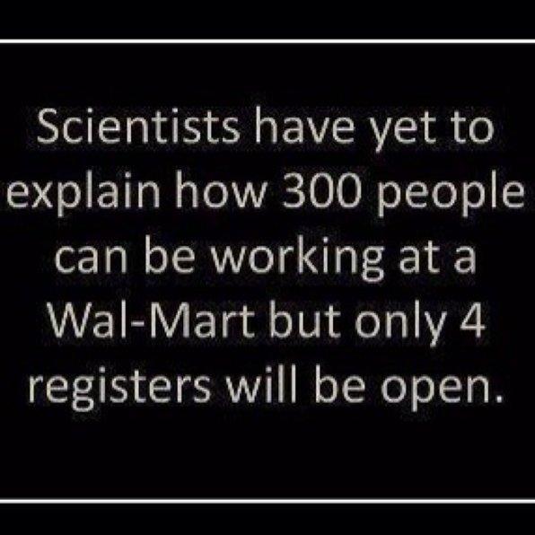 Walmart Registers
