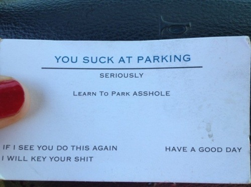 You Suck At Parking!