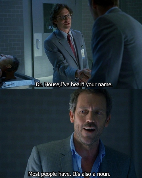 Dr. House – Name