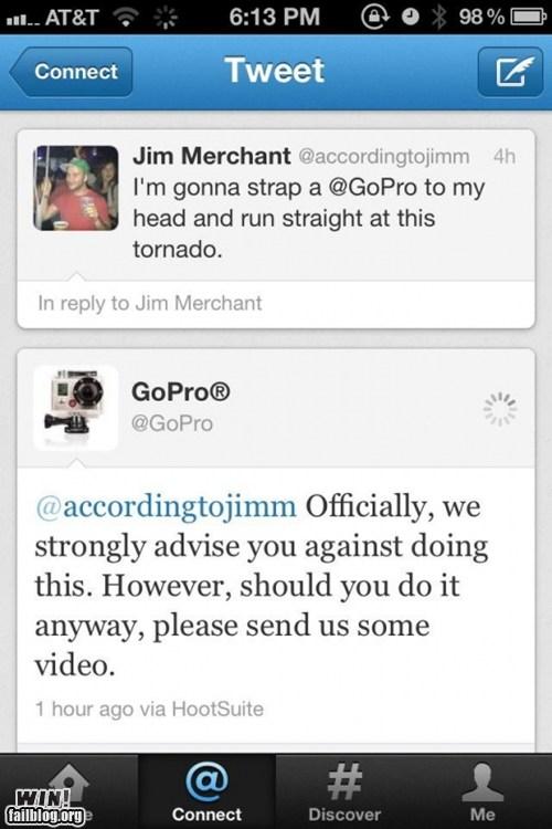 GoPro Win!