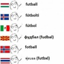 Football In Different Languages