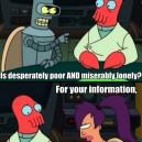 Futurama – Poor Zoidberg…