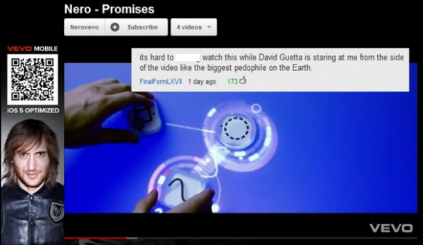 Epic Youtube Comment – David Guetta