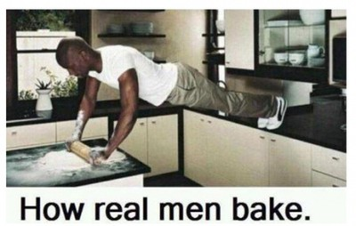 How Real Men Bake