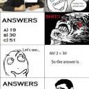 DUring Math Exam