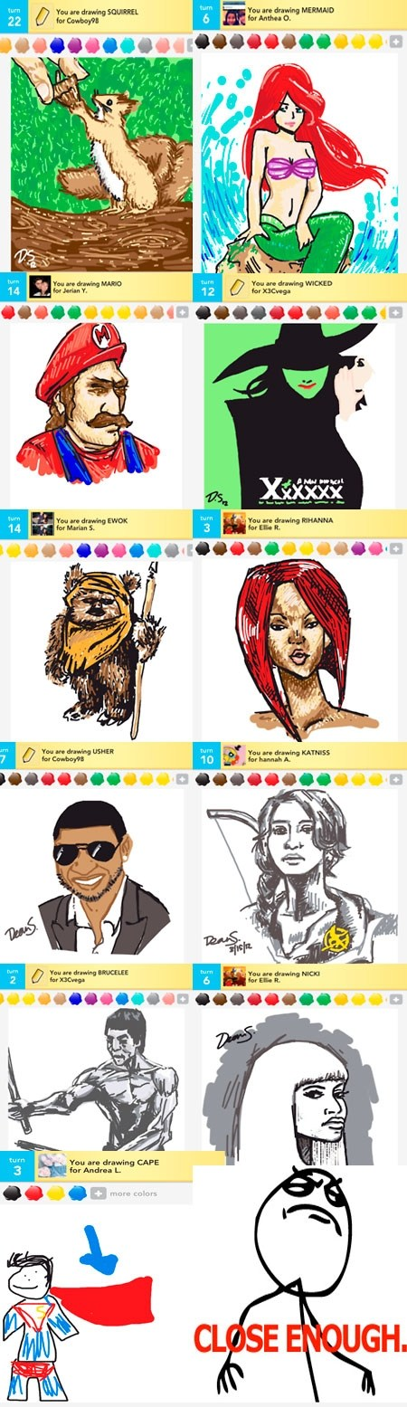 Can You Draw Something Better? I Can't…
