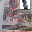 Throwing a Nokia 3310