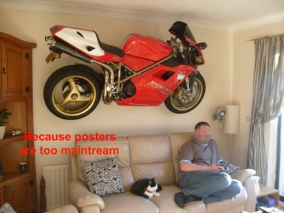Because Posters Are Too Mainstream