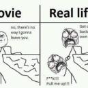 Movie vs. Real Life