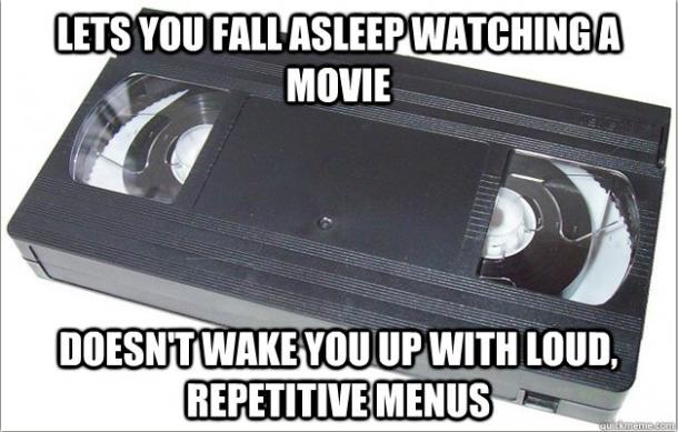 Dear Old VHS…