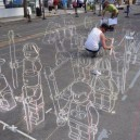 3D Street Art In The Making