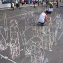 3D Street Art In The Making