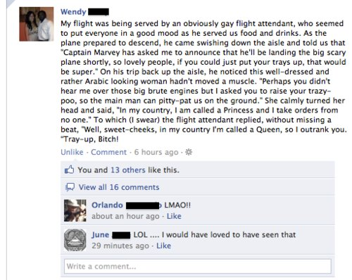 Epic Flight Attendant is Epic