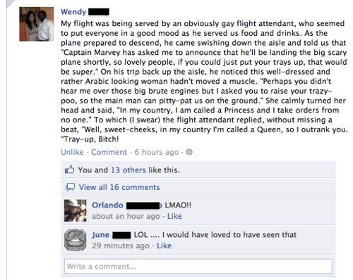 Epic Flight Attendant is Epic