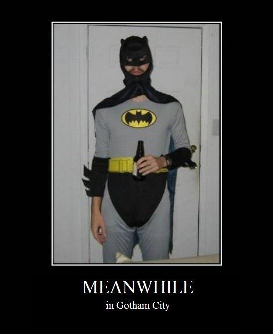 Meanwhile in Gotham City