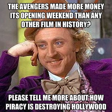Pirating The Avengers MEME